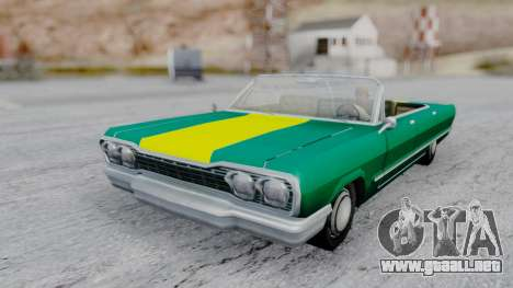 Savanna F&F4 Chevy PJ para GTA San Andreas