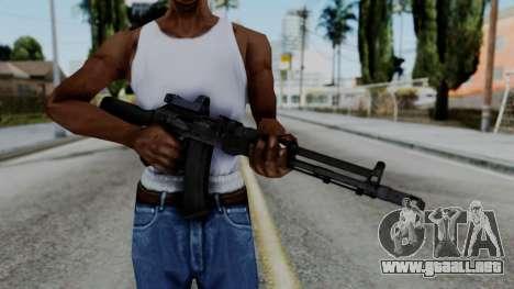 Arma OA AK74-100 para GTA San Andreas tercera pantalla