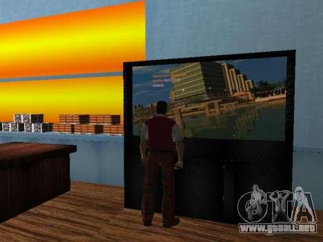 Tienda de Tommy Vercetti para GTA Vice City sucesivamente de pantalla