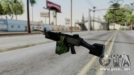 MG4 para GTA San Andreas segunda pantalla