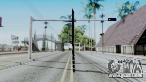 Deadpools Sword para GTA San Andreas segunda pantalla