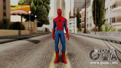 Marvel Heroes - Spider-Man Classic para GTA San Andreas segunda pantalla