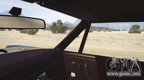 GTA 5 1970 Porsche 914 vista lateral trasera derecha