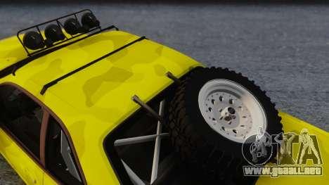 Nissan Skyline R34 Rusty Rebel para la visión correcta GTA San Andreas