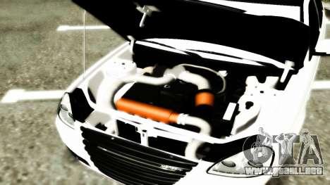 Lada 2172 Mansory para la visión correcta GTA San Andreas