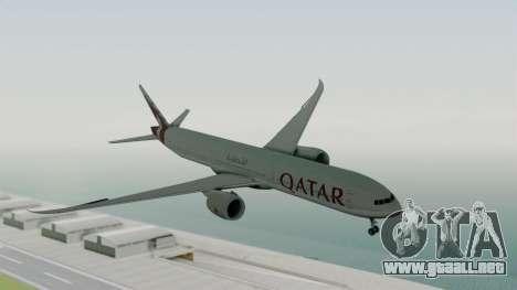 Boeing 777-9x Qatar Airways para GTA San Andreas