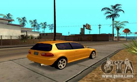 Honda Civic EG6 Tunable para la vista superior GTA San Andreas