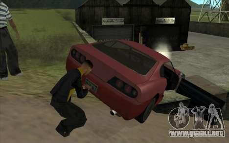 Viaje por carretera 1.0 para GTA San Andreas