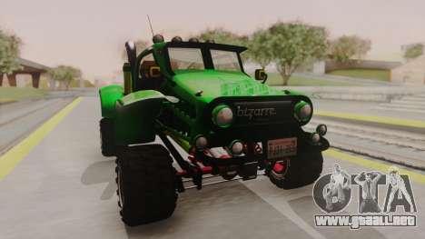 Mudmonster para la visión correcta GTA San Andreas