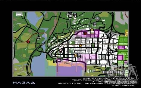Viaje por carretera 1.0 para GTA San Andreas quinta pantalla
