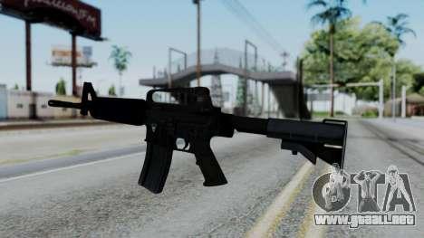 M16 A2 Carbine M727 v1 para GTA San Andreas segunda pantalla