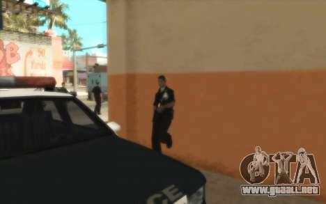 La Policía De C. R. A. S. H para GTA San Andreas sucesivamente de pantalla