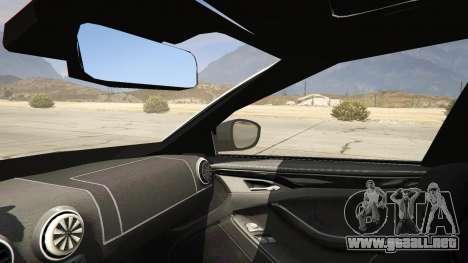 GTA 5 2014 Police Skoda Octavia VRS Estate vista lateral trasera derecha