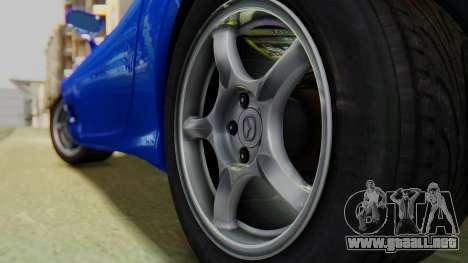 Mazda RX-7 1993 v1.1 para GTA San Andreas vista hacia atrás