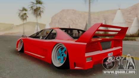 Turismo Saber X para la visión correcta GTA San Andreas