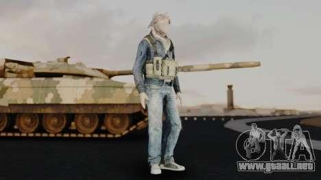 Somalia Militia Desert Camo para GTA San Andreas segunda pantalla