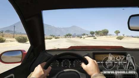 GTA 5 GTA 4 Feltzer vista trasera
