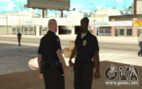 La Policía De C. R. A. S. H para GTA San Andreas tercera pantalla