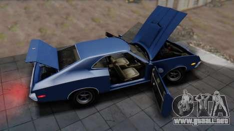 Ford Gran Torino Sport SportsRoof (63R) 1972 IVF para GTA San Andreas vista hacia atrás