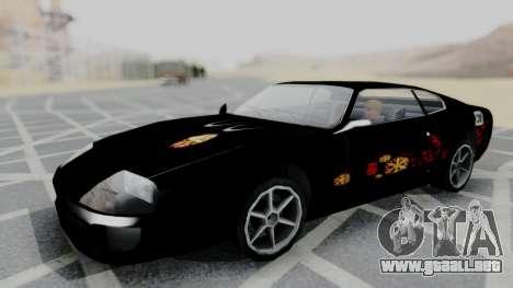 Jester F&F Honda 2000 PJ para GTA San Andreas