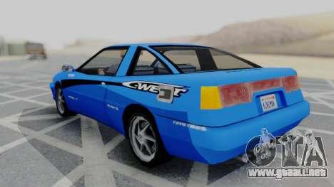 Uranus F&F3 RX-7 West PJ para GTA San Andreas left