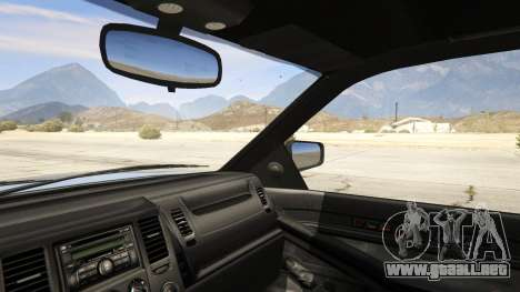 GTA 5 GTA 4 Contender vista lateral trasera derecha