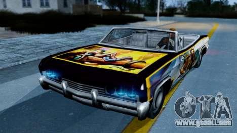 Slamvan New PJ para GTA San Andreas left