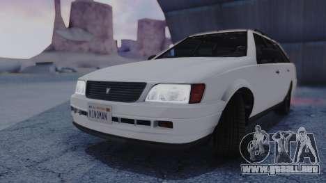 GTA 5 Vulcar Ingot IVF para la visión correcta GTA San Andreas