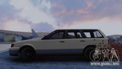 GTA 5 Vulcar Ingot para GTA San Andreas vista posterior izquierda