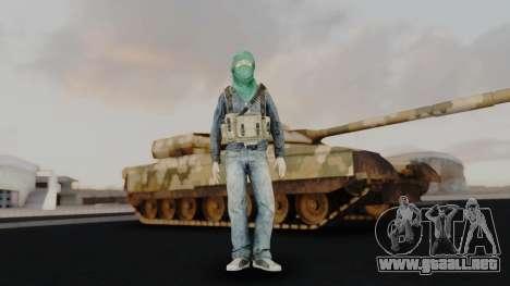 Somalia Militia para GTA San Andreas segunda pantalla