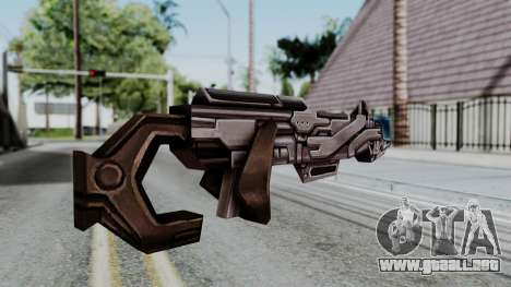 Marvel Future Fight - Rocket Raccon Rifle para GTA San Andreas segunda pantalla