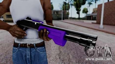 Purple Spas-12 para GTA San Andreas tercera pantalla