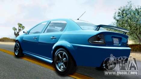 GTA 5 Declasse Premier para GTA San Andreas left