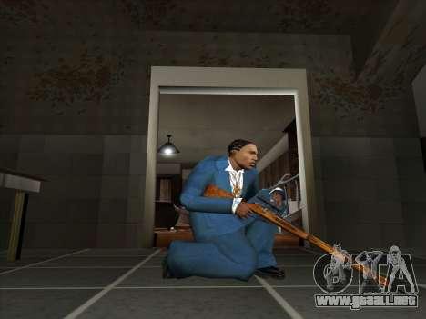 Un conjunto de armas rusas para GTA San Andreas twelth pantalla
