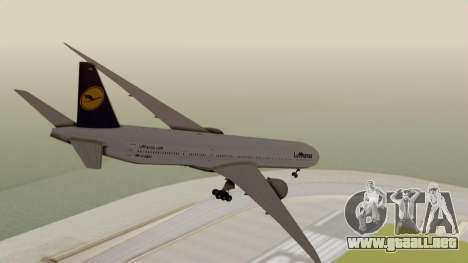 Boeing 777-9x Deutsche Lufthansa para GTA San Andreas left