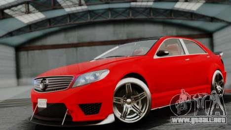 GTA 5 Benefactor Schafter V12 IVF para GTA San Andreas