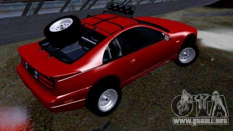 Nissan 300ZX Rusty Rebel para GTA San Andreas left