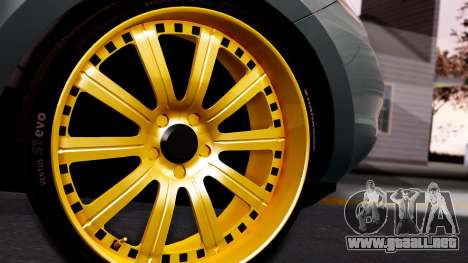 Hyundai Santa Fe para GTA San Andreas vista posterior izquierda