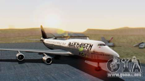 Boeing 747-428 Ed Force One para GTA San Andreas