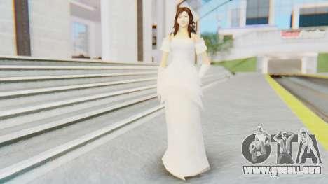 Lin Chi-Ling Bride Outfit para GTA San Andreas segunda pantalla