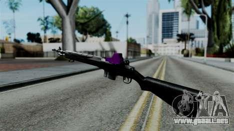 Purple Rifle para GTA San Andreas segunda pantalla