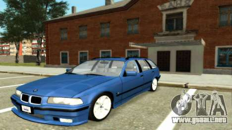 BMW 318i Wagon Touring Wagon para GTA San Andreas vista posterior izquierda