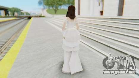 Lin Chi-Ling Bride Outfit para GTA San Andreas tercera pantalla