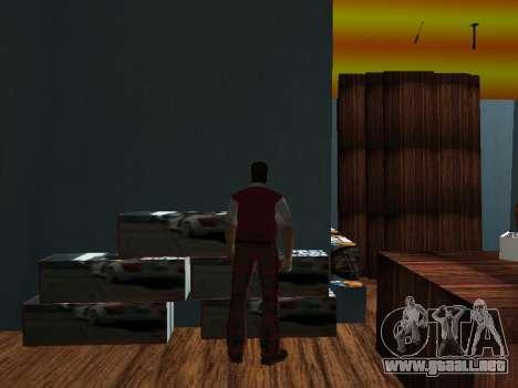 Tienda de Tommy Vercetti para GTA Vice City segunda pantalla