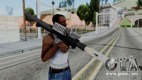 GTA 5 Homing Launcher - Misterix 4 Weapons para GTA San Andreas tercera pantalla