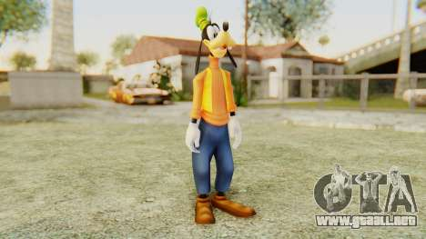 Kingdom Hearts 2 Goofy para GTA San Andreas segunda pantalla