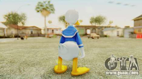 Kingdom Hearts 2 Donald Duck v2 para GTA San Andreas tercera pantalla