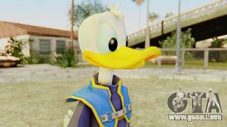 Kingdom Hearts 2 Donald Duck Default v2 para GTA San Andreas