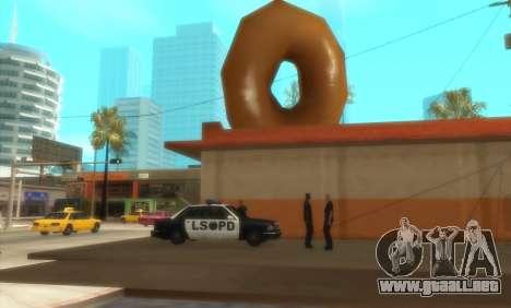 La Policía De C. R. A. S. H para GTA San Andreas