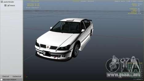 GTA 5 GTA 4 Lokus vista lateral derecha